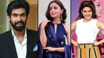 Rana Daggubati Eyes On Alia Bhatt || Filmibeat Telugu