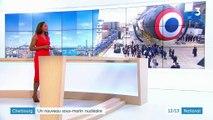Cherbourg : Emmanuel Macron lance le nouveau sous-marin nucléaire Suffren