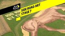 Side road art  - Étape 7 / Stage 7 - Tour de France 2019