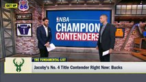 Blazers, Rockets, Lakers among Jacoby's 2020 championship contenders _ Get Up