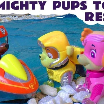 Paw Patrol Mighty Pups Robo Dog Rescue after Accident with Paw Patrol Mission Paw and the Funny Funlings in this Family Friendly Full Episode English Story for Kids