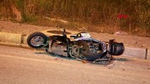 SAMSUN Otomobilin çarptığı motosiklet sürücüsü ağır yaralandı