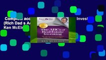 Complete acces  ABCs of Real Estate Investing (Rich Dad s Advisors (Paperback)) by Ken McElroy