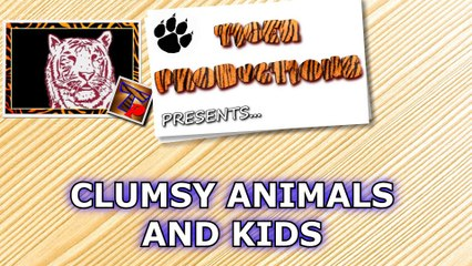 Funniest CLUMSY ANIMALS and KIDS - Try to STAY SERIOUS without LAUGHING during this!