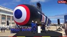L'inauguration du sous-marin Suffren à Cherbourg