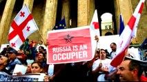 Georgia-Russia tensions: Donald Tusk criticises flight ban
