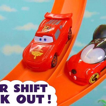 Hot Wheels Race Off with Disney Pixar Cars 3 Lightning McQueen vs Transformers Bumblebee and PJ Masks in this Family Friendly Toy Story Full Episode