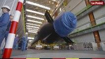 Les derniers préparatifs avant l'inauguration du sous-marin Suffren