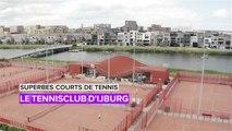 Superbes courts de tennis: le club de  tennis d'IJburg