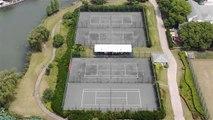 Tolle Tennisplätze: Shanghai