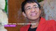 Amal Clooney è il nuovo avvocato di Maria Ressa