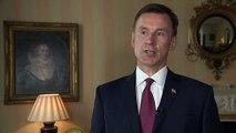 Jeremy Hunt on Iran: UK 'not seeking to escalate' tension