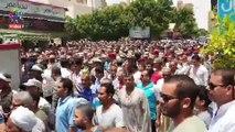 تشييع جثمان العميد سامح فؤاد فى جنازة عسكرية مهيبة بالسويس