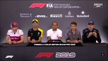 F1 2019 British GP - Thursday (Drivers) Press Conference