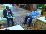 RTG/Le Ministre en charge des affaires étrangères a été reçu par le Président de la république
