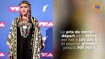 La lettre de rupture de Tupac à Madonna vendue aux enchères