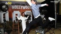 Brad Pitt Perfects the Art of the Photo Bomb