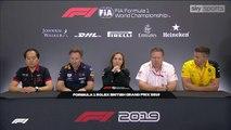 F1 2019 British GP-Team Principals' Press Conference