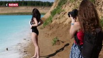 Sibérie : le lac pollué des instagrameurs