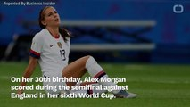 Alex Morgan Shades England With Goal