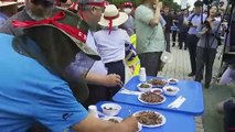 South Korea dog meat protesters hounded by farmers
