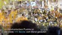 Adiós Beetle: Letzter VW-Käfer-Nachfolger läuft vom Band