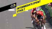 Intermediate sprint / Sprint intermédiaire - Étape 7 / Stage 7 - Tour de France 2019