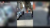 Roma, l'ennesimo bus in fiamme: paura su via Appia Nuova | Notizie.it