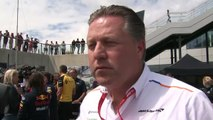 McLaren CEO Zak Brown on the impact of new team principal Andreas Seidl