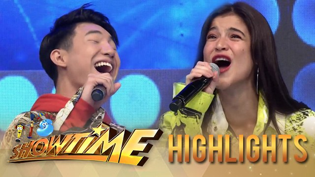 Anne Curtis and Darren Espanto on their high pitch version of Nanay Tatay | It's Showtime