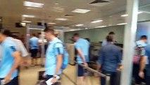 Lazio in partenza per il ritiro