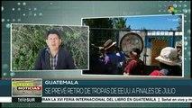 Guatemala: pobladores de Huehuetenango exigen retiro de tropas de EEUU