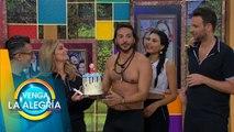 ¡Así festejamos a Alejandro Maldonado en la familia de VLA! | Venga La Alegría