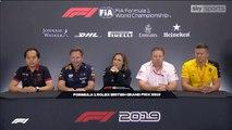 F1 2019 British GP - Friday (Team Principals) Press Conference
