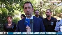 Le 18:18 - Incendies : un week-end à haut risque en Provence