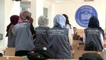 Türk ve Bosnalı öğrenciler tecrübelerini paylaşıyor