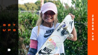 Setups: 10-Year-Old Sky Brown Breaks Down her Choice of  Almost Skateboard, Tensor Trucks, and More