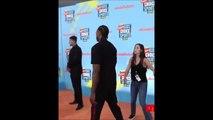 Kawhi Leonard walks off tries not to take picture at Nickelodeon Kids' Choice Sports 2019 Awards  7-12-19