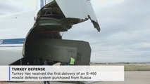 Turkey takes first delivery of Russian missile system despite US warnings