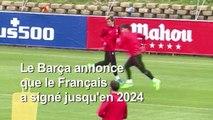 Antoine Griezmann signe au Barça jusqu'en 2024