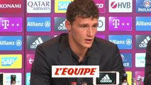 Pavard «J'ai faim et j'ai envie de gagner des titres» - Foot - ALL - Bayern