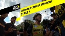 Onboard camera Emotions - Étape 7 / Stage 7 - Tour de France 2019