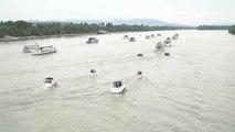 Naufragio Mermaid: cerimonia commemorativa sul Danubio