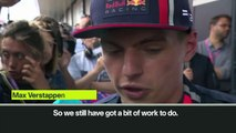(Subtitled) 'Red Bull have work to do' as Austrian GP winner Verstappen seventh in Silverstone Friday's practice