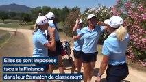 Championnat d'Europe par équipes Dames: Les Bleues joueront la 9e place