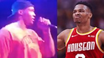 Russell Westbrook REACTS To Being Traded To The Houston Just MINUTES After News Broke