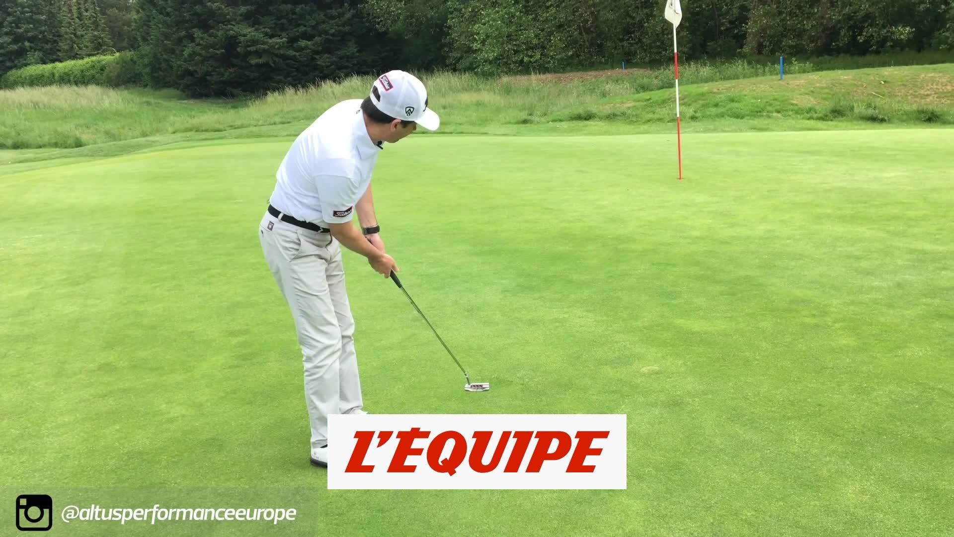 La bonne routine au putting – Golf – Altus