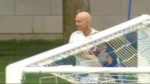 El Real Madrid entrena en Montreal sin Zidane