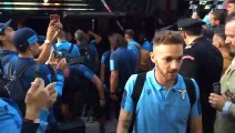 La Lazio arriva ad Auronzo