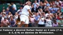 Wimbledon - Federer bat Nadal et rejoint Djokovic en finale